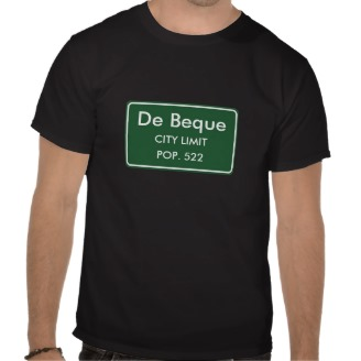 De Beque, CO City Limits Sign T-Shirt