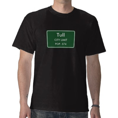 Tull, AR City Limits Sign T-Shirt